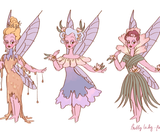 Fairy sketches2