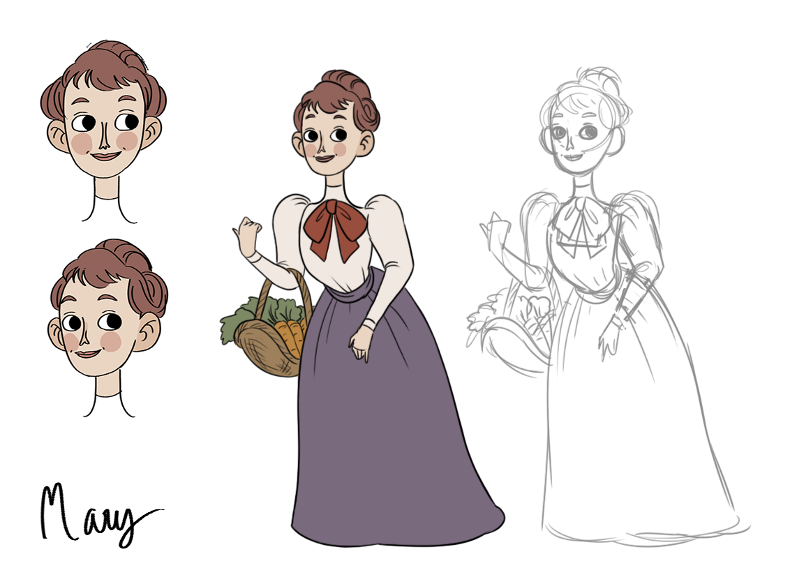Mary final design